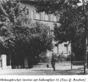 Philosophisches Institut am Falkenplatz 16